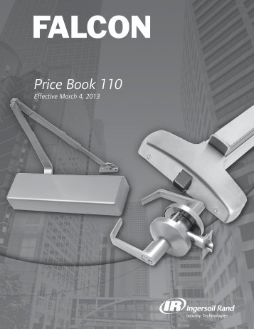 Falcon Price Book - Top Notch Distributors, Inc.