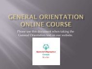 Please click here to view the General Orientation Power Point