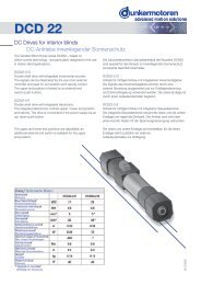 DCD 22 - Dunkermotoren