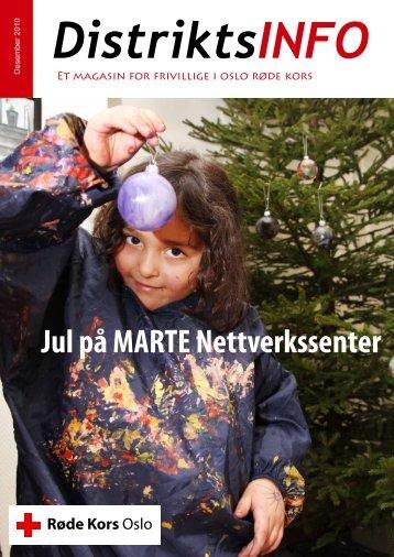 Jul på MARTE Nettverkssenter - Røde Kors