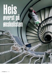 Heis øverst på ønskelisten.pdf - Huseiernes Landsforbund