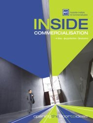 Annual Review 2005 - The Australian Institute for Commercialisation