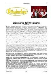 Biographie der Krieglacher - adlmann promotion