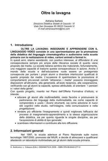 Oltre la lavagna - Università degli Studi di Trento