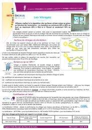 Les Vitrages - Espace Info Energie Pays de la Loire