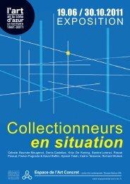 Collectionneurs en situation - L'espace de l'art concret