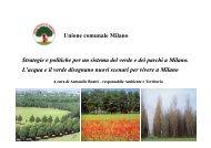 Strategie e politiche per un sistema del verde e dei parchi a Milano ...