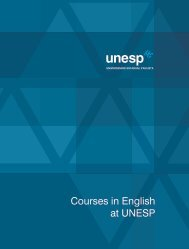 Courses in English at UNESP