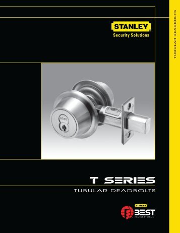 Tubular deadbolts - Best Access Systems
