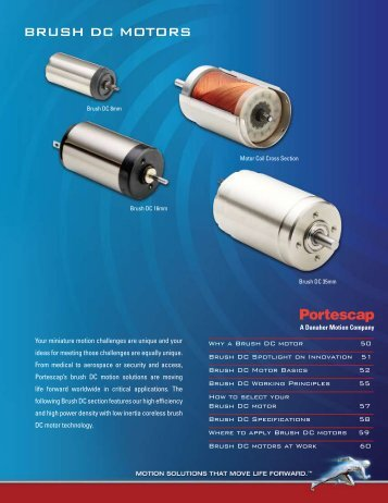 BRUSH DC motoRS - didier villers on line