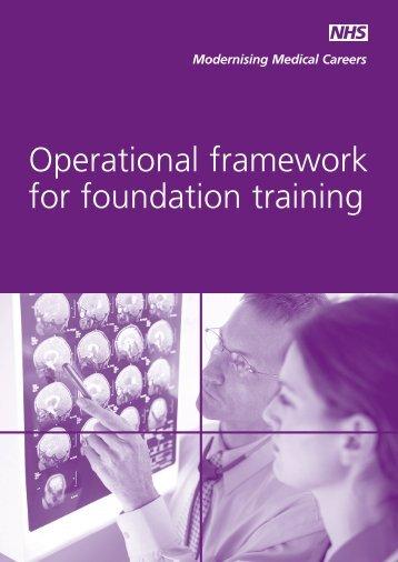 Operational framework for foundation training - Starpace