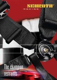 The SCHROTH HYBRID™ Restraint - Dali Racing