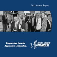 2012 annual report.pdf - Union County Chamber of Commerce