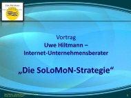Die SoLoMoN Strategie - Sternstunde für Unternehmer