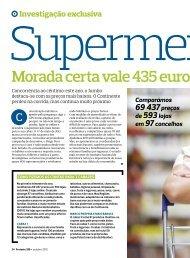 Preços Supermercados - reportagem Outubro 2012.pdf - O Portal do ...