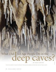 What Did Ice Age People Do in the - University of Pennsylvania ...