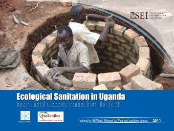 History of Ecological Sanitation in Uganda - EcoSanRes
