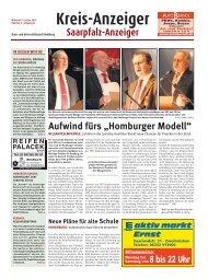 Homburger Modell - Saarpfalz-Anzeiger