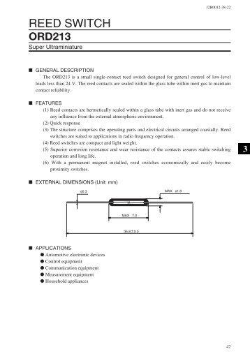 ORD213 - MEDER electronic