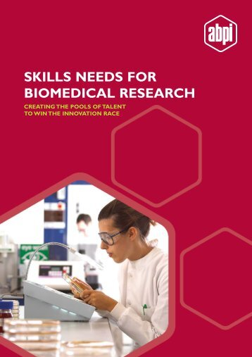 Skills needs for biomedical research - Association of the British ...