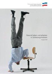 Gesund leben und arbeiten in Schleswig-Holstein