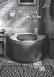 Tehokäymälä Composting Toilet - Taloon.com