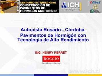 Autopista Rosario - Córdoba. Pavimentos de Hormigón con ... - ICPA