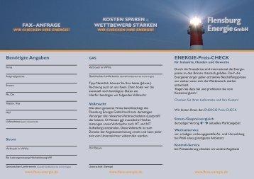 Flyer herunterladen - Flensburg Energie GmbH