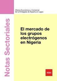 Nota sectorial. Mercado de los grupos electronicos - Oficinas ...