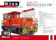 tm 2_2_RZ - Kiss Modellbahnen
