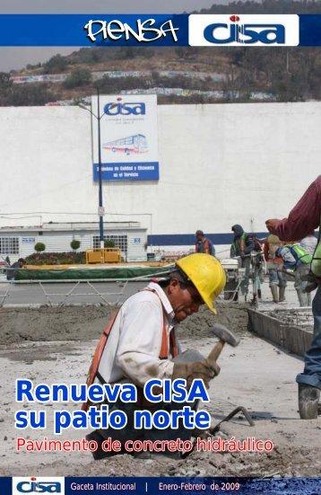 """Gaceta """"Piensa CISA"""" Enero - Febrero 2009 - ci-sa.com.mx"""