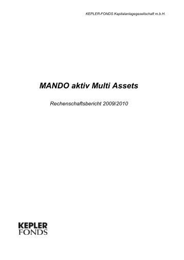 MANDO aktiv Multi Assets RB 30.11.2010 - kepler-fonds kag