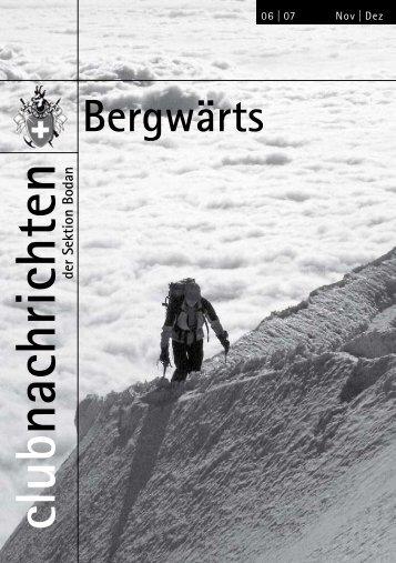SENiOREN-WANdERwOchE BRUNNEN - SAC Sektion Bodan