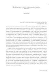 La Metafisica a cento anni dalla sua nascita - Fondazione Giorgio e ...
