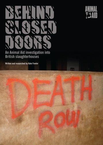 Behind Closed Doors - Animal Aid