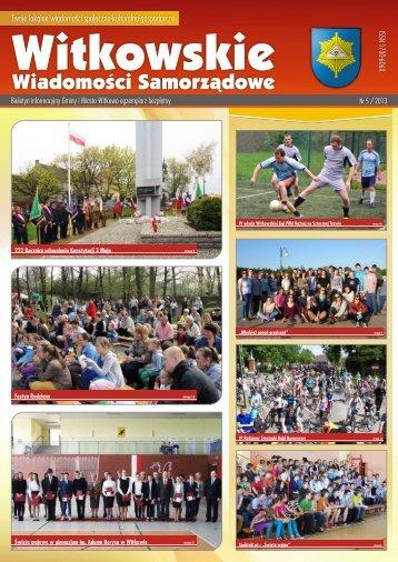 WWS 5-2013 - Witkowo