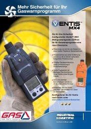 Datenblatt auf Deutsch - Gas Alarm Systems