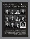 Annual Report 2007 - Meadowridge School - Page 4