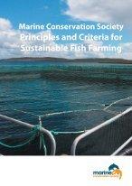 Principles and Criteria for Sustainable Aquaculture. - Marine ...
