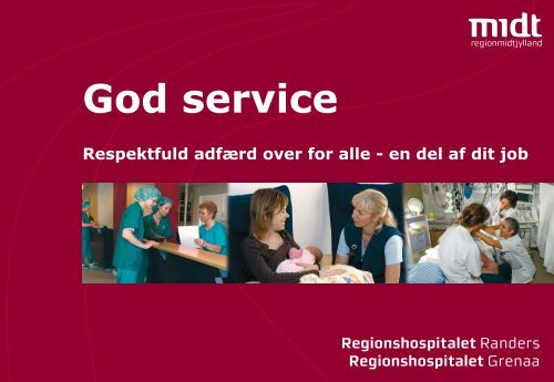 Folder God service.indd - Regionshospitalet Randers