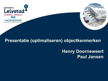 PowerPoint presentatie Lelystad - Waarderingskamer