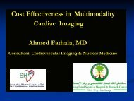 Cost Effectiveness in Multimodality Cardiac Imaging ... - RM Solutions