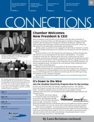 Chamber Welcomes New President & CEO By Laws Revisions ...
