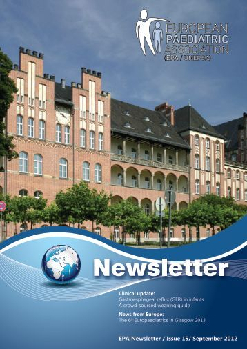 EPA Newsletter / Issue 15/ September 2012 - epa / unepsa
