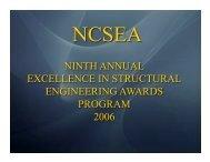 2006 NCSEA Award Winners