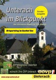 Ausgabe zum Parteitag 2009 - (ÖVP) Unterach am Attersee