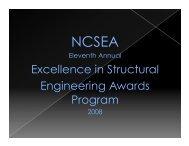 2008 NCSEA Award Winners
