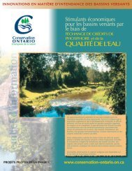 Fact Sheet Four Layout_FR.qxp - Conservation Ontario