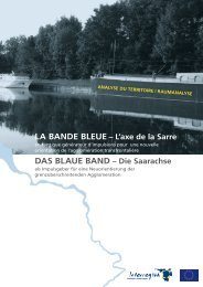 Die Saarachse : RAUMANALYSE - Eurodistrict SaarMoselle