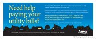 Need help paying your utility bills? - Atmos Energy